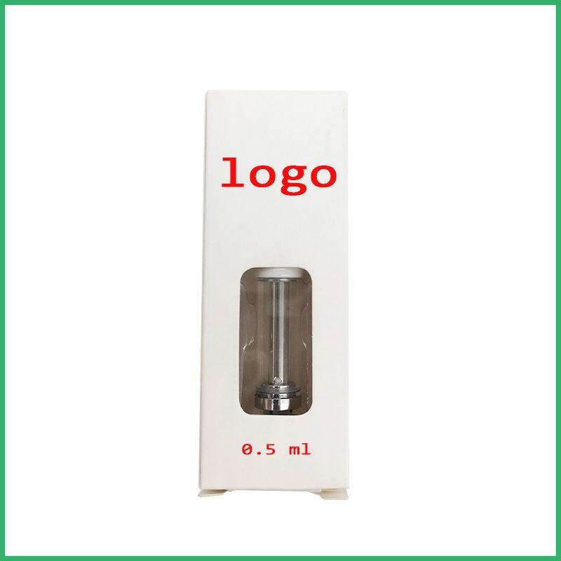 OEM Best quality no leak ceramic tip glass cartridges wickless dual coil atomizer for CO2 oil open vape CE3 tank huge vape pen vaporizer