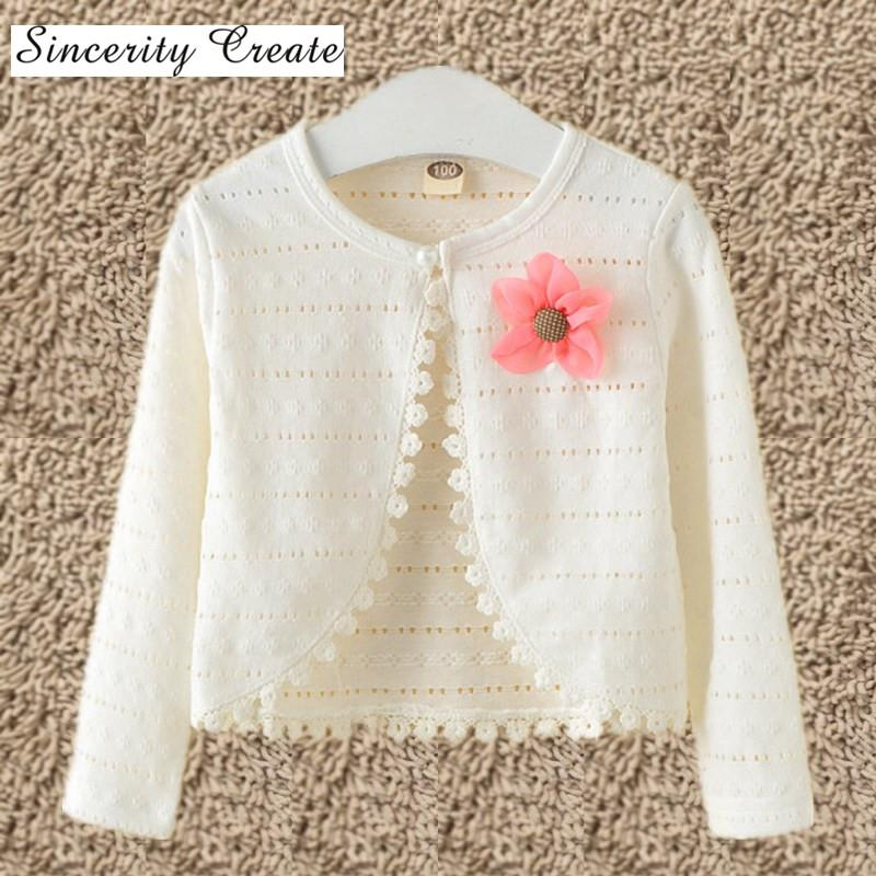 123456810y Baby Cardigan Sweaters Cotton Polyester Thin Long