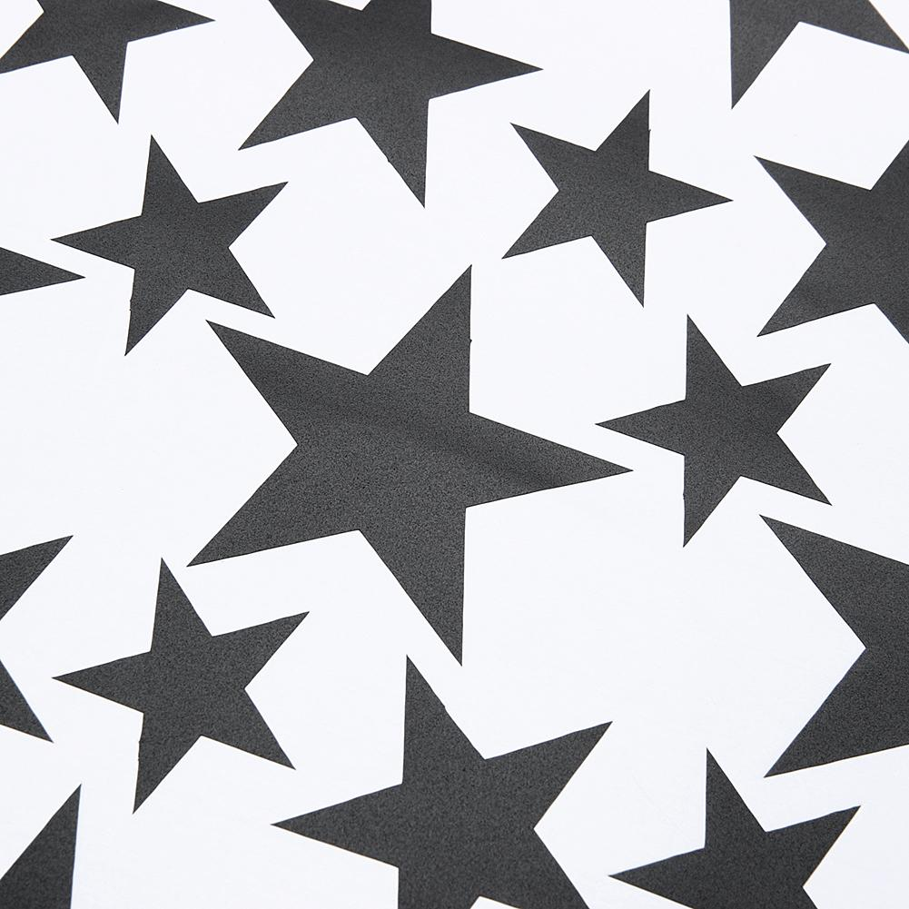 DIY Gold Stars Pattern Vinyl Wall Art Decals Nursery Room Decoration Wall Stickers for Kids Rooms Home Decor