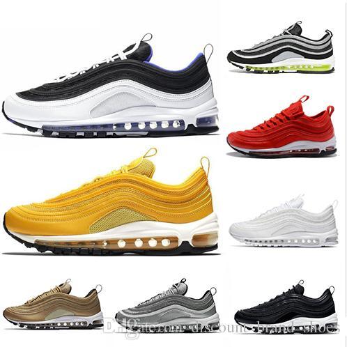 960bad91d83c46 New Air Classic 97 Women Men Running Shoes 97s Cushion Persian ...