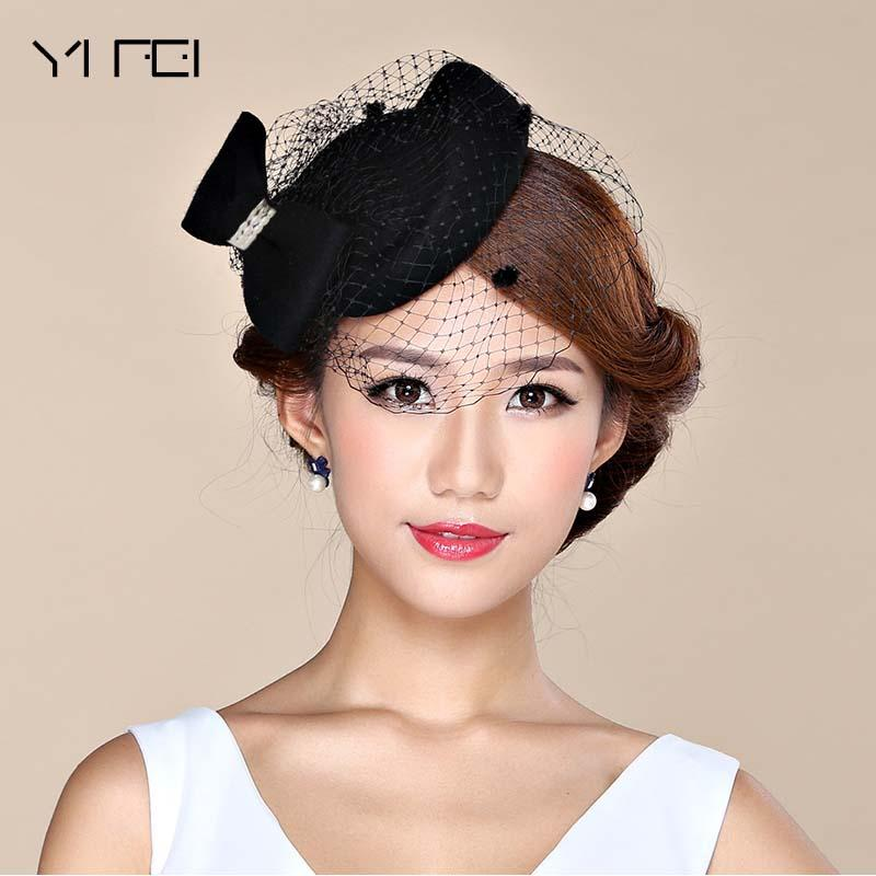 2019 Fascinator Hats For Women Winter Embroidered Veil Cotton Felt Pillbox  Hats For Formal Cocktail Party Wedding Dress Fedoras From Fabuline 2bfe2eee328