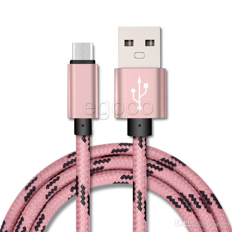USB Плетеный кабель 1м 2м 3м 0.25m Тип C Кабель для передачи данных для Samsung Sony смартфон