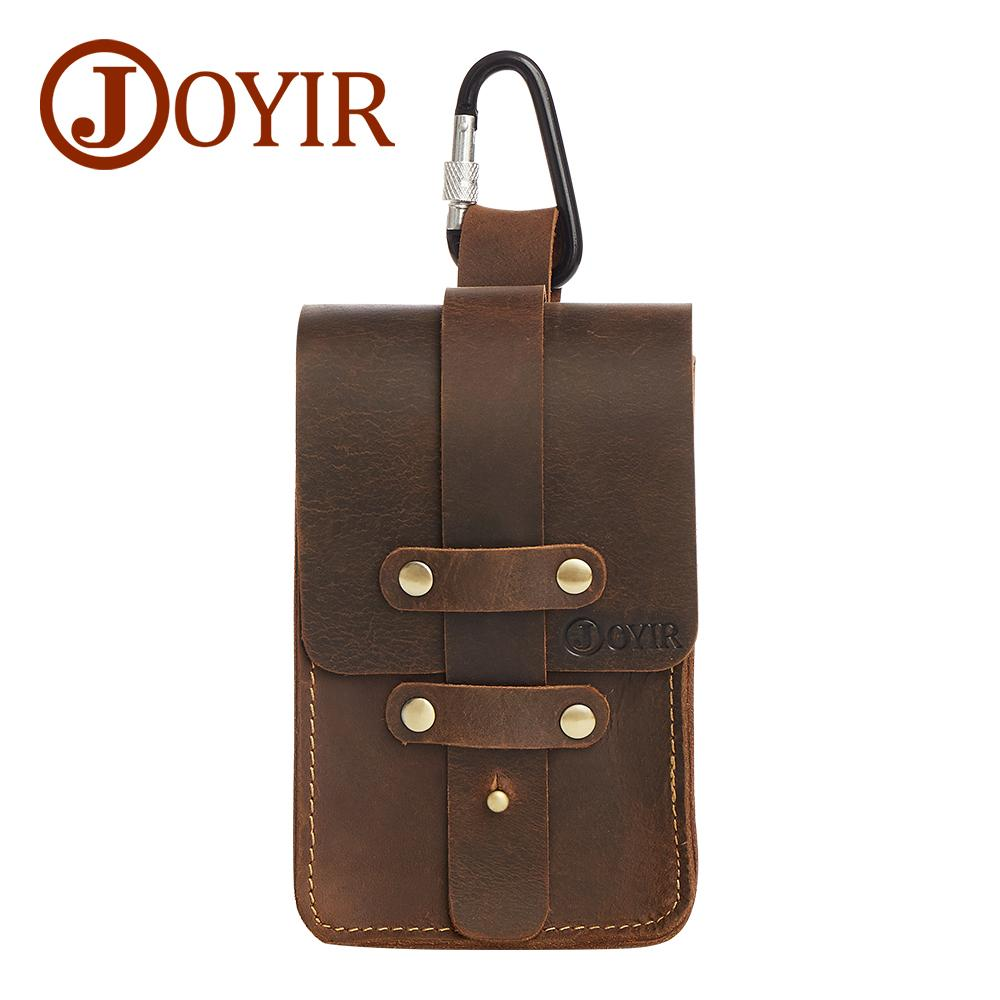 80f5580c623b9 JOYIR Genuine Leather Waist Packs Fanny Pack Belt Bag Phone Pouch Bags  Travel Waist Pack Male Small Bag Leather Pouch 6337 Leather Fanny Pack  Vintage Bags ...