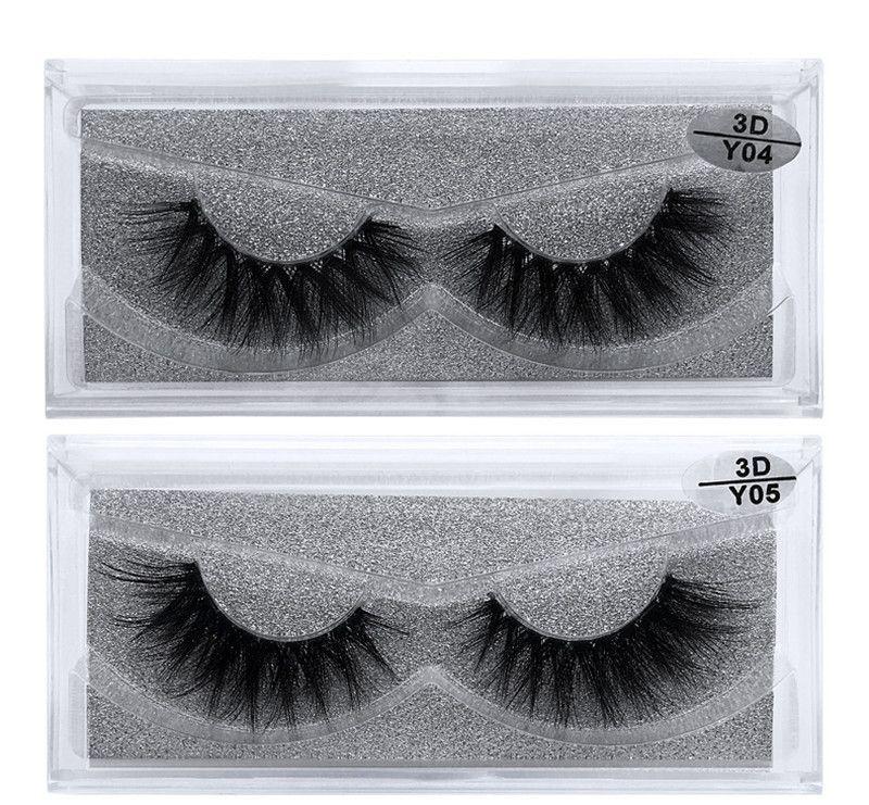 10 Estilos 3d Mink Cílios Natural Longo Grosso Falso Eye Lashes Maquiagem Dos Olhos Make Up Extensão Dos Cílios Mink Cabelo Cílios Falsos Y series