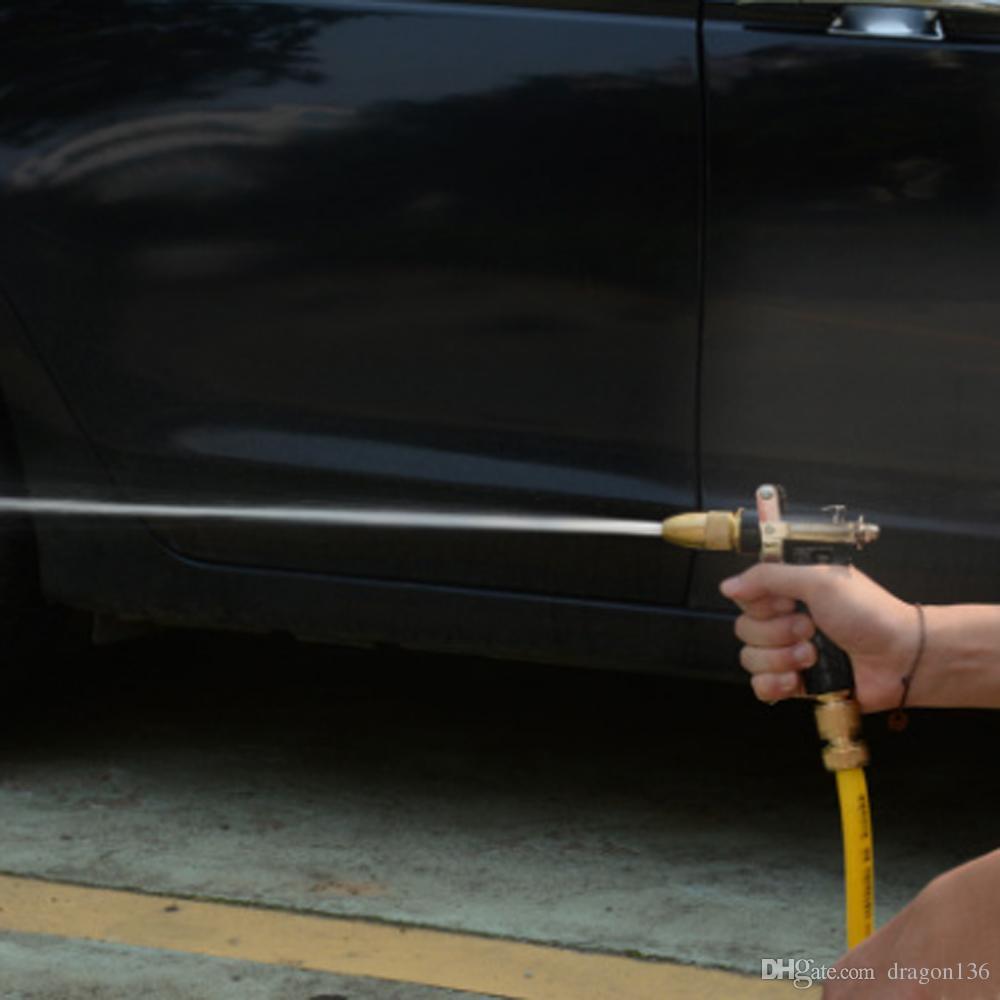 BLL Latón Pistola de pulverización de manguera de cobre ajustable Pistola de manguera de jardín Pistola de presión de agua para el riego del jardín / Vehículos Lavado