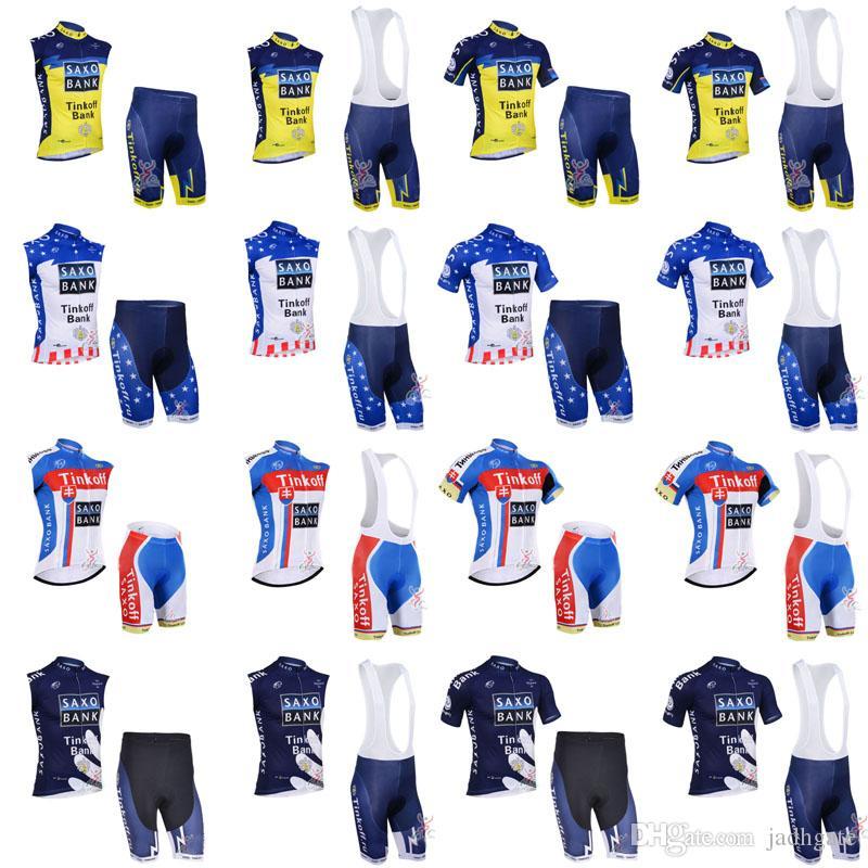 Hot Tinkoff Saxo Bank New Cycling Short Sleeve Jerseys Bike Clothes Quick  Dry Bicycle Sportwear Ropa Ciclismo GEL Pad Bike Bib Shorts F60406 Buy  Bicycle ... 48ebee82f
