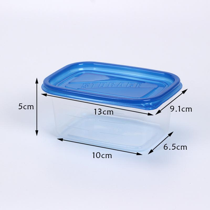 280ml Disposable Lunch Boxes with Lid Food Storage Containers Cake Salad Boxes Microwave DIY Home Baking Plastic Package Box