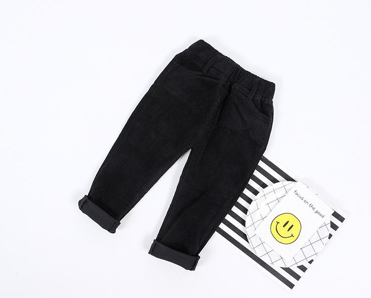 Pantaloni di alta qualità autunno bambini pantaloni bambino pantaloni di velluto a coste bambini pantaloni Harem pantaloni casual ragazzi vestiti del bambino
