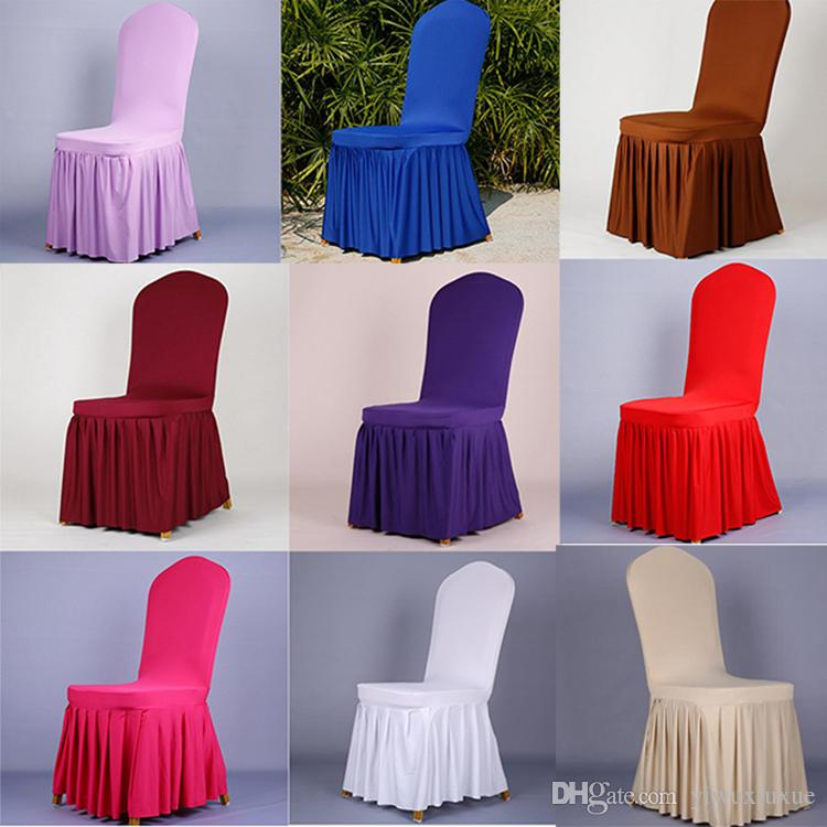 Charmant Wedding Banquet Chair Cover Stretch Elastic Spandex Slipcovers Restaurant  Hotel Dining Chair Seat Covers Wedding Chair Covers Banquet Chair Cover  Chair Seat ...