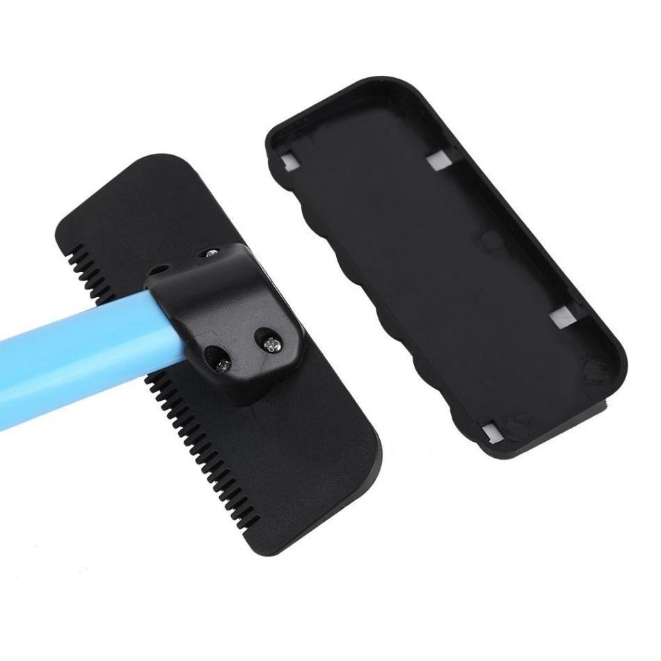 Men Manual Back Hair Shaver Blade Trimmer Do-it-yourself Whole Body Leg Back Hair Razor Long Handle Big Blade Hair Removal Razor free shippi