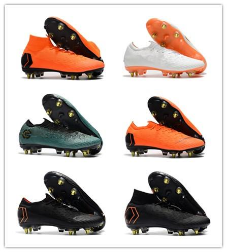f7db60f1aec 2018 Mercurial Superfly VI 360 Elite SG Football Boots High Ankle ...