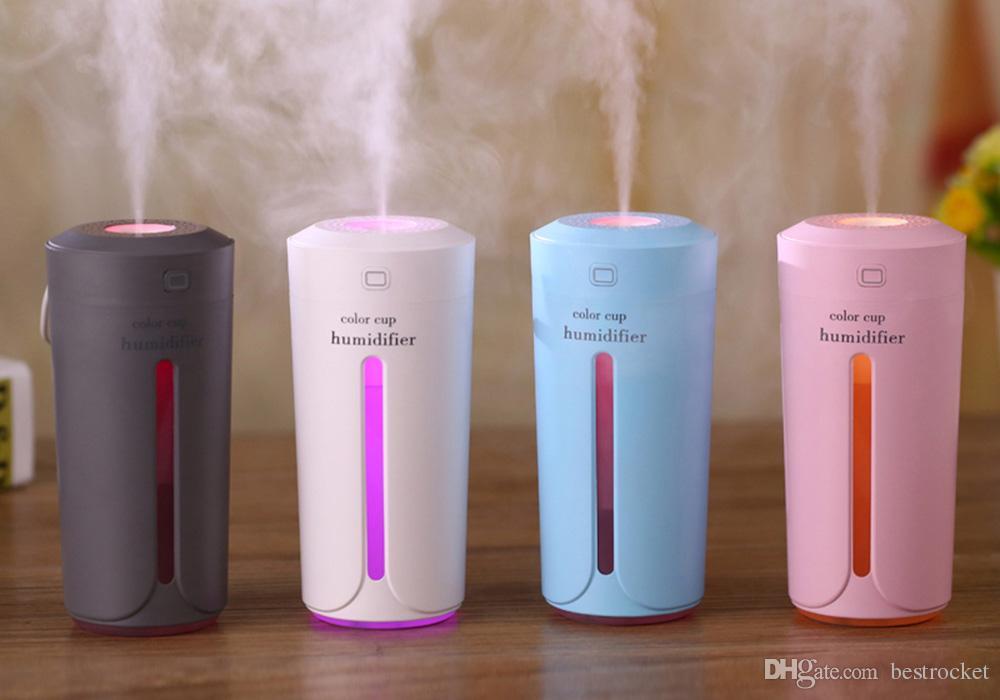 Acheter humidificateur dair ultrasonique multicolore de l