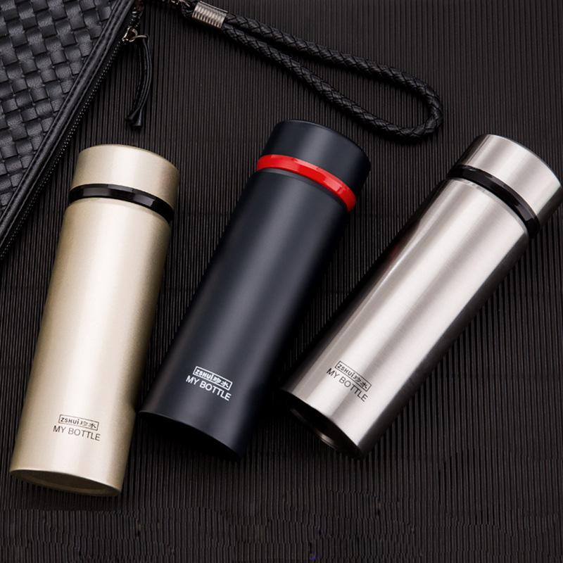 aa2cdf1ed26 2019 High Quality Men Vacuum Flasks 304 Stainless Steel Thermos Mug 2018  New 400ml Travel Mug Father's Day Gifts From Griffith, $82.59 | DHgate.Com