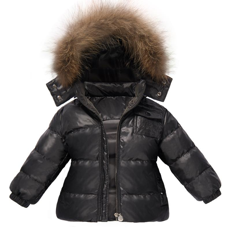 Ternos de inverno para meninasRoupa Boys fit -15 Graus Crianças Terno De Esqui Snowsuit Set Down Jacket Jumpsuit Crianças Roupas Set
