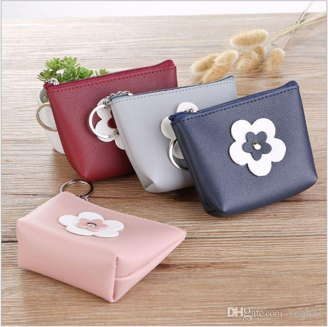 Vintage Flower Coin Purse PU Leather Key Holder Bag Wallet Zipper Small  Gifts Character Change Bag Clutch Handbag For Women Womens Bags Wholesale  Bags From ... bdc4615ccc