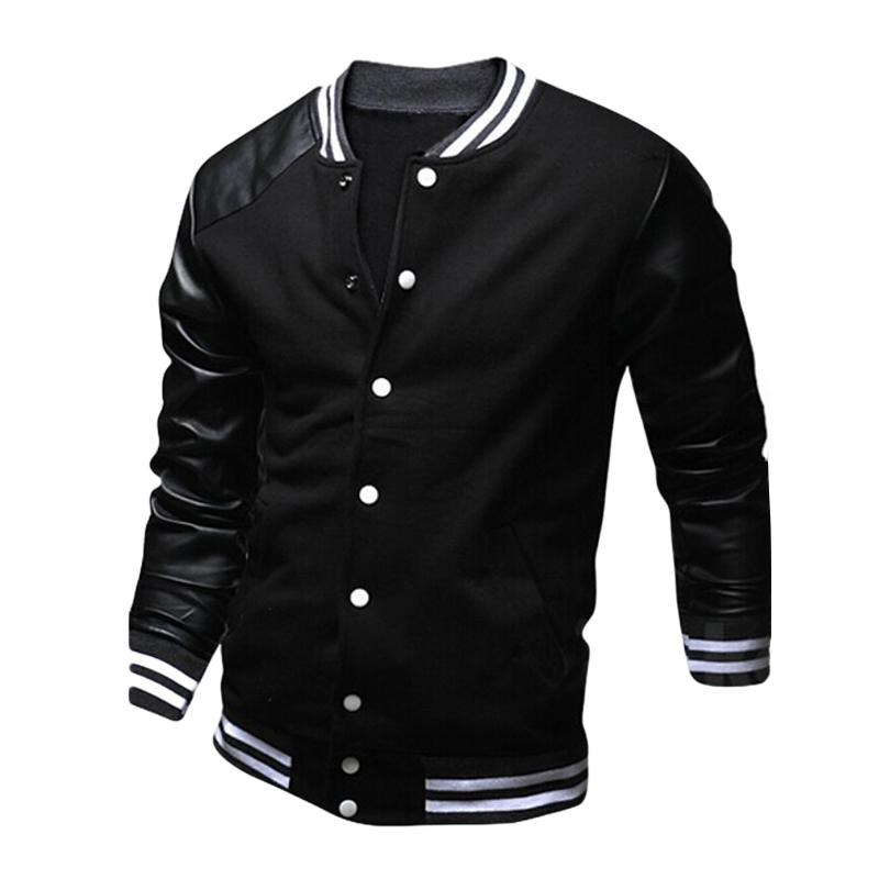 ca5f78a06655 New Sping Autumn Fashion Brand Men Clothes Slim Fit Long Sleeve ...