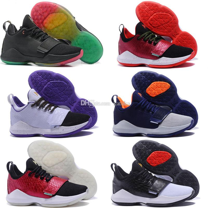 new concept efc58 761a2 2018 New Top Athletic PG 1 Basketball shoes hot sales Buy cheap Paul George  shoes online wholesale Store us 7-12