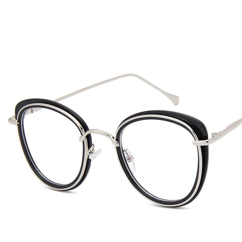 7e0d07a7826 2019 2017 New Vintage Fashion Cat Eye Eyeglasses Frames Women Brand Designer  Optical Glasses Frame Female Eyewear High Quality From Sisan08