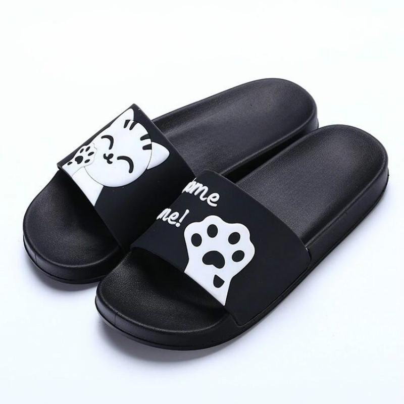 fab062caf 2018 Fashion Shoes Women Indoor Home Slippers Female Summer Beach Sandals  Non Slip Korean Version Of The Tide Slipper Women Slippers For Women Cheap  Shoes ...
