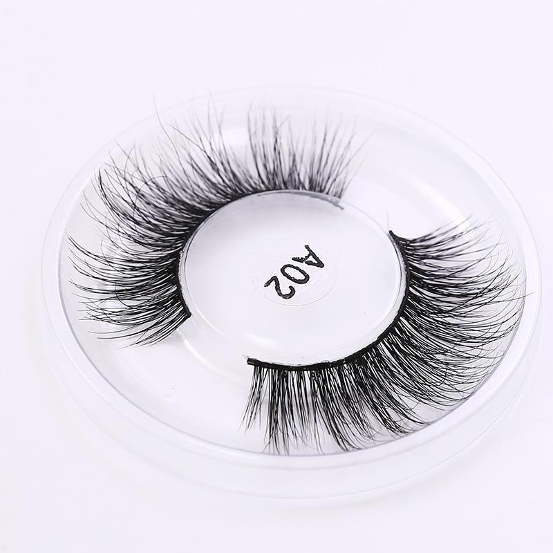 22 Styles 3D Mink Eyelashes 3D Mink Lash False Eyelashes 100% Real Mink Lashes Crossing Fake Eye Lashes Natural Long Thick Eyelash