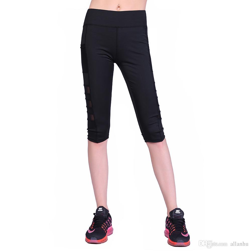 4a14807a914 Acheter En Gros Pas Cher Nouvelle Mode Fille Femmes Leggings Noirs Genou  Longueur Leggings Pantalon Galaxie Legging Femmes Leggings Livraison  Gratuite ...