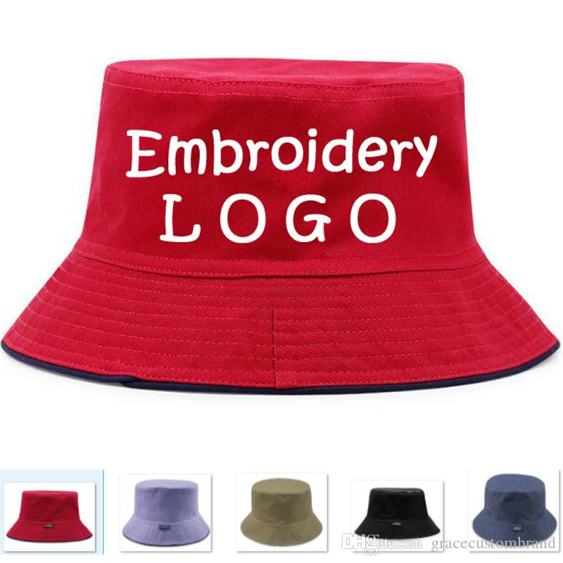 ... cheap for discount Wholesale Embroidery Custom Fishing Men Hats Adult  Bucket Hat With Windproof Rope Men ... c82b9c4c340