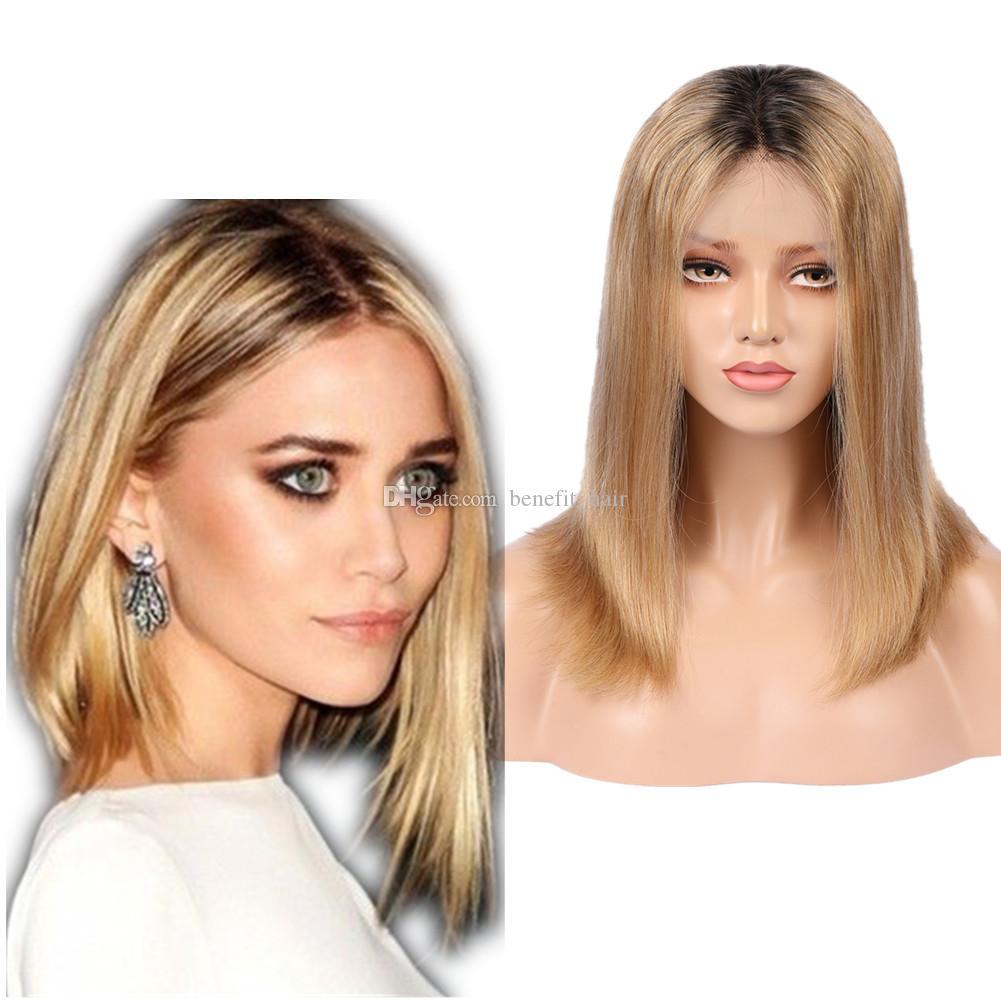 Из блондинки в и в темный цвет