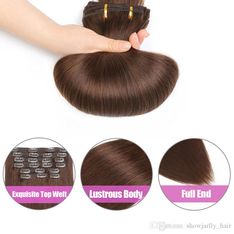 18 Remy Hair Extensions Clip On Real Hair Clip In Extensions For