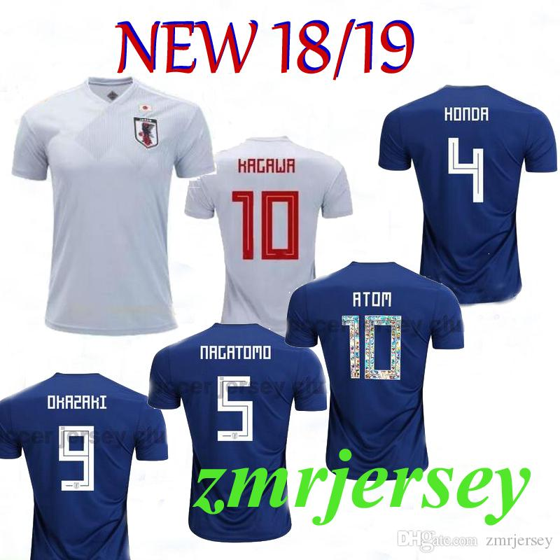 2019 2018 World Cup Japan National Team Home And Away Futbol Camisa Soccer  Jerseys Football Camisetas Shirt Kit Maillot From Zmrjersey 1b220c163