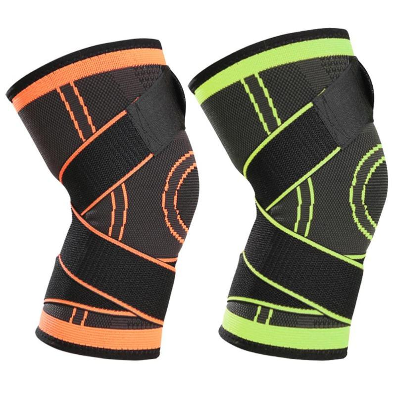 8cf35b797a 2019 3d Pressurized Fitness Running Cycling Bandage Knee Support Braces  Elastic Sports Compression Pad Sleeve Nylon From Teawulong, $41.9 |  DHgate.Com