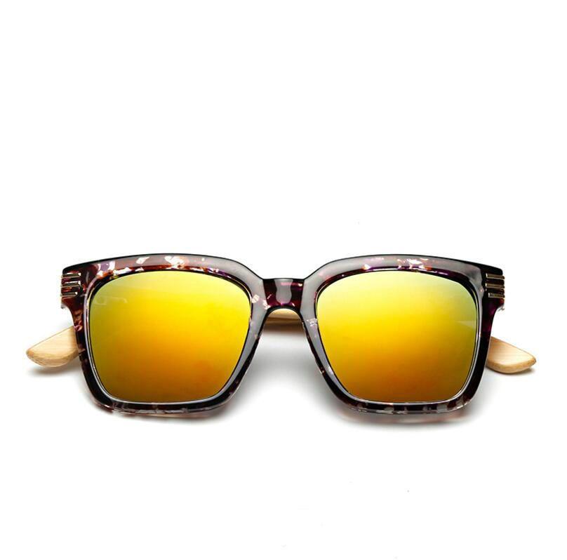 3b09dc3739 Novel Personality Women Bamboo Foot Sunglasses Summer Beach Holidays Casual  Wild Sun Glasses Color Frame Fire Resin Lenses Eyeglasses Cheap Victoria  Beckham ...