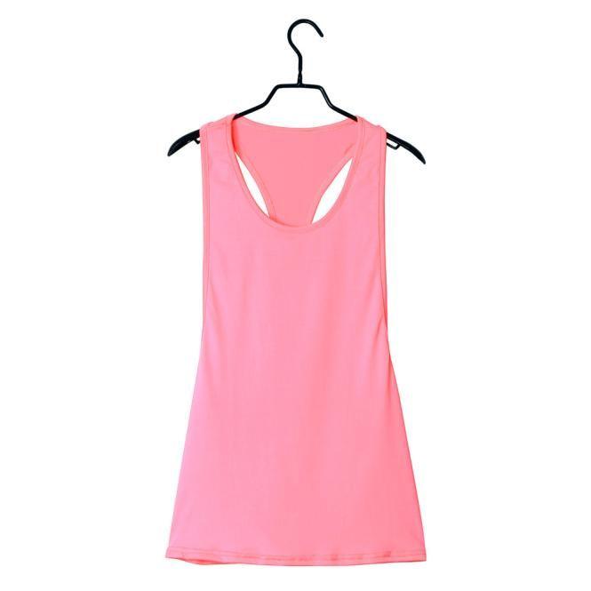 Summer Sexy Women Tank Tops Blusas sueltas de secado rápido Fitness chaleco sin mangas Singlet para y Sexy camisa Tops es Plus tamaño