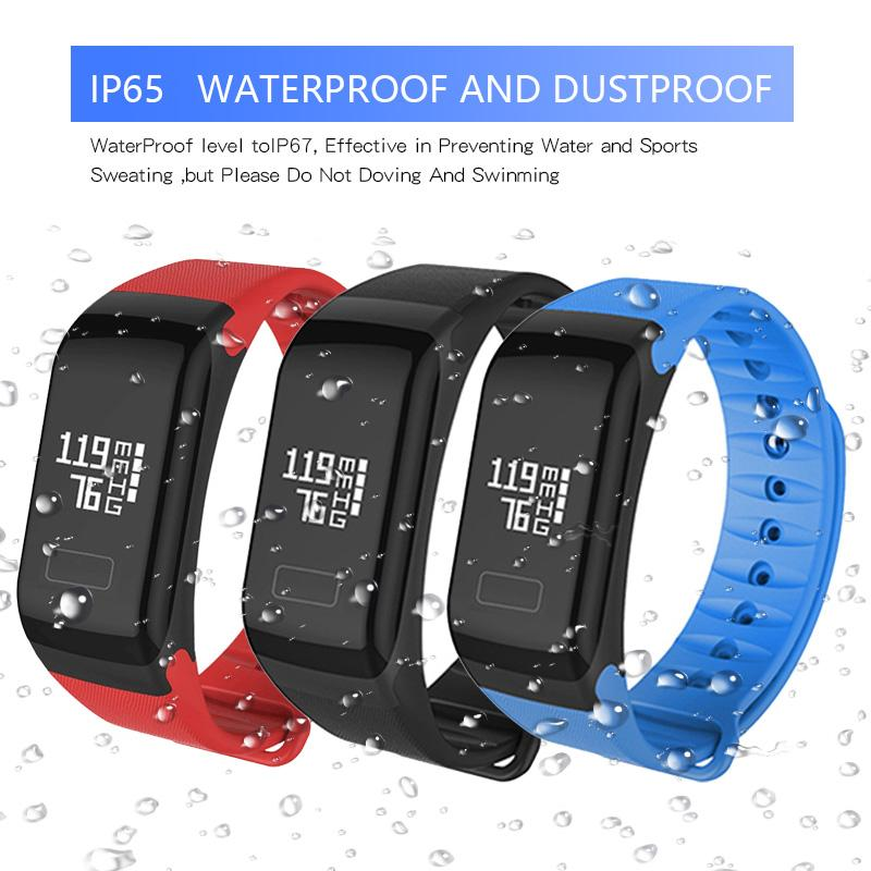 Luxury Bluetooth smart watches IP65 Waterproof Dustproof Wearable Fitness Tracker F1 Support Men Women Smartwatch for iphone android Phone
