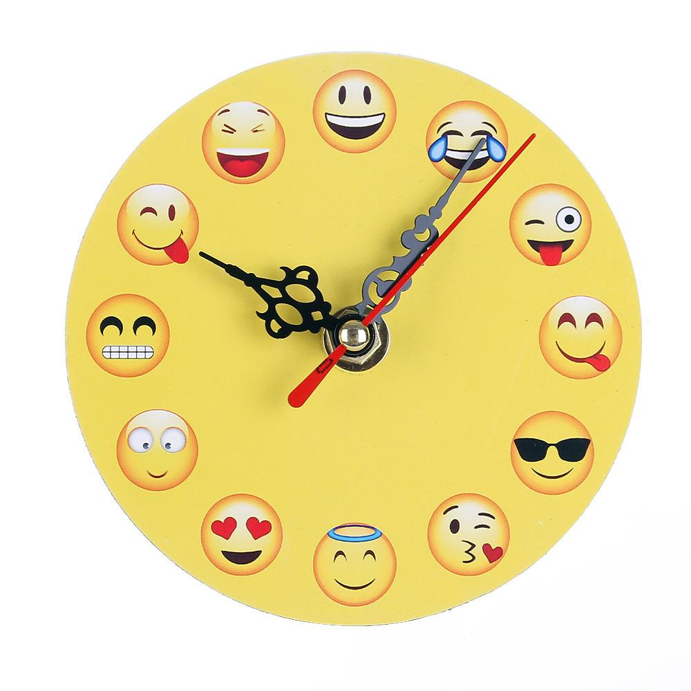 Best Wooden Desk Clocks Digital Decorative Emoji Table Clock 2018 Drop Under 26 39 Dhgate Com