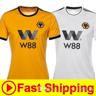 b196d41d1 Top Best Quality Wolverhampton Wanderers FC Home Away Wolves Jersey ...