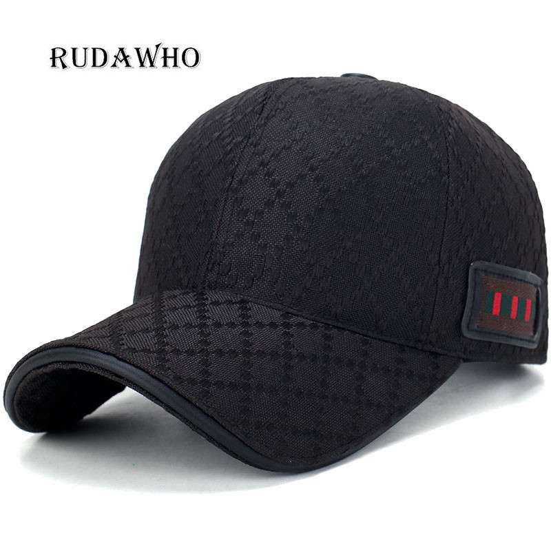 Men s Baseball Cap 2018 Hats Gift Gorr New Designer Casual Golf New Cap  Men s Brand Name Black Brown Dark Blue Luxury Brand Hat Wholesale Hats Caps  Online ... 017796559
