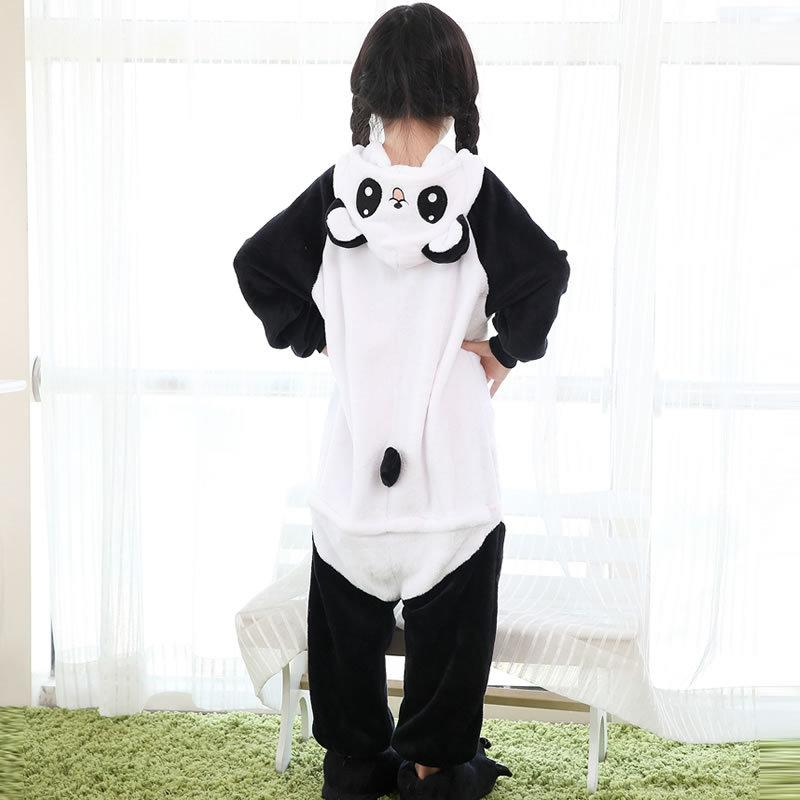 39c637ce66 2017 Pyjamas Roupas Infantis Menina Pyjama Panda Children Kids Flannel Pajamas  Anime Cartoon Costumes Sleepwear Cosplay Onesie Kids In Pjs Holiday Kids ...