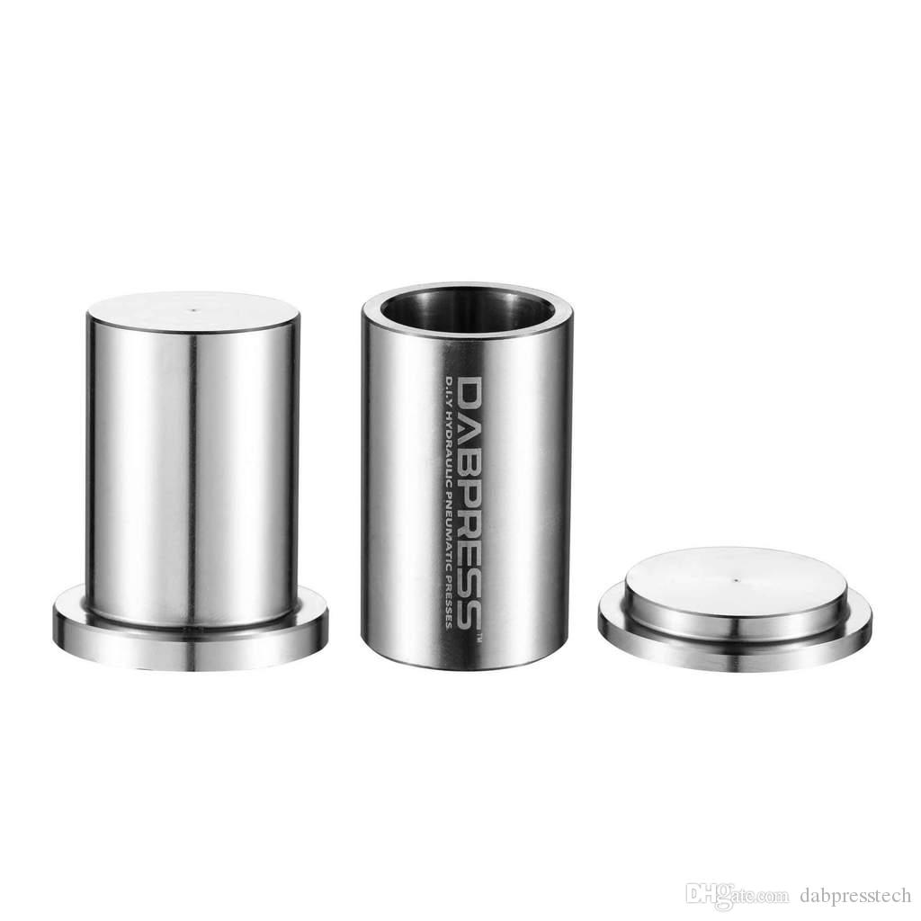 Wholesale Best Rosin Tech Pre Press Mold Cheap Food Grade Stainless Steel Home Manual Puck Maker for Solventless Oil Extractions Dabpress