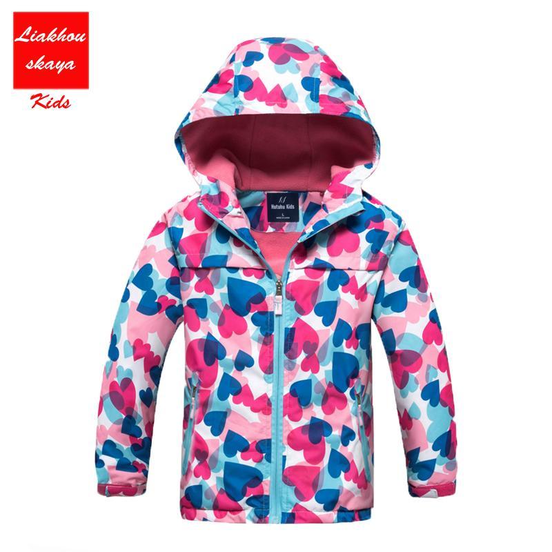 3e7cf64f72df 2017 New Children Autumn Winter Jacket For 4 13 Y Boys Girls Hoodies ...