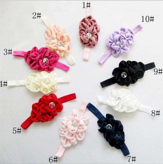 Детские дети девушки лук лентой корейский стиль Принцесса оголовье тюрбан узел головы обертывания детские аксессуары для волос xth057