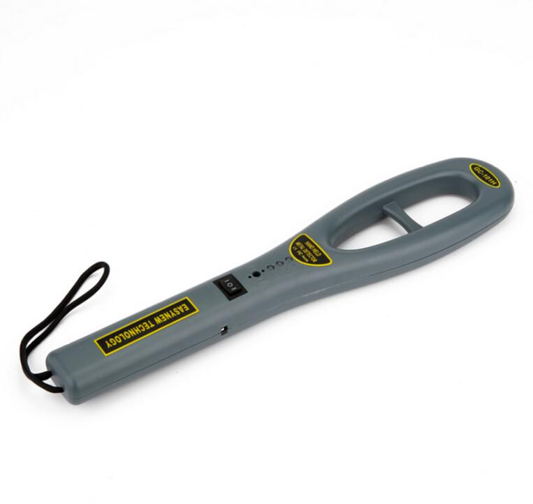 Wholesale-Brand New Hand Held Metel Detector GC-101H Industrial Metal  Detectors GARRETT Metal Tester security checks Free Shipping