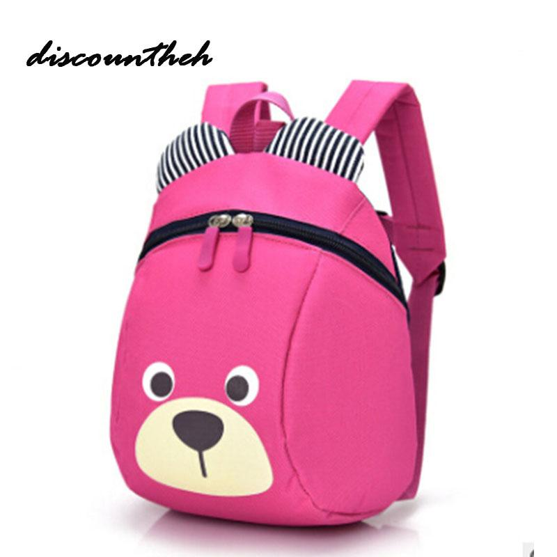 31b4af4ee NEW Cute Little Bear Children s Backpack Lovely cartoon animal School Bags  For Boys Girls kindergarten bag baby bags 4 colors