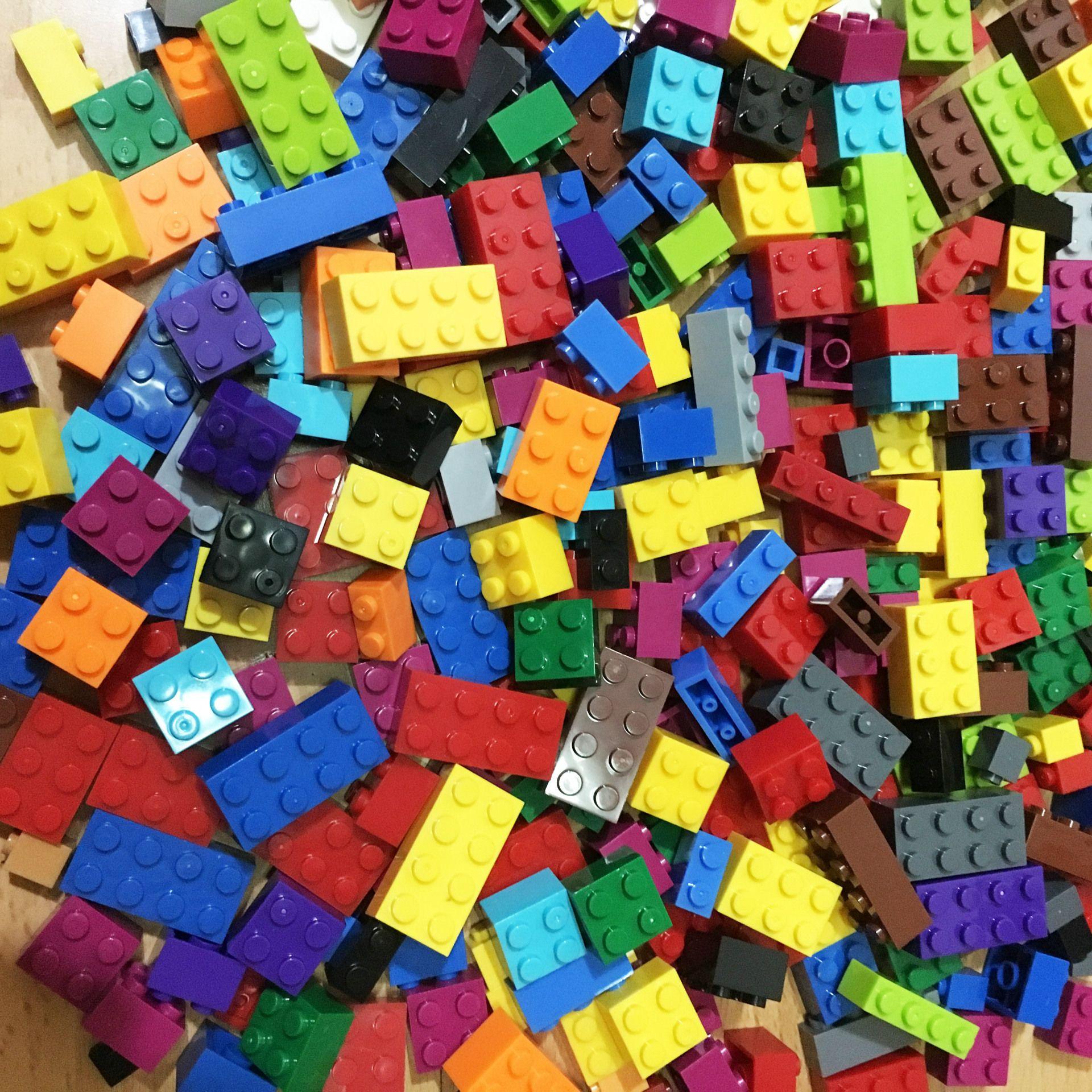 Australia's small particle blocks 1000 bulk assembled science children's building blocks DIY kindergarten brain development educational toys