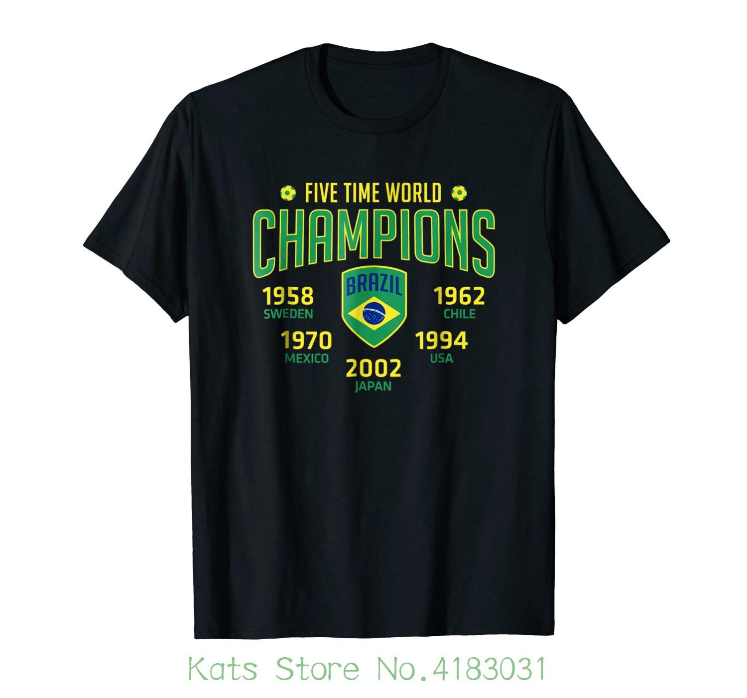 a030248487022 Russia Bra Brazil World Footballer Cup 2018 Discount Wholesales T Shirt  Harajuku Cool Tshirt Homme Random T Shirts Poker T Shirts From  Cooldaystore