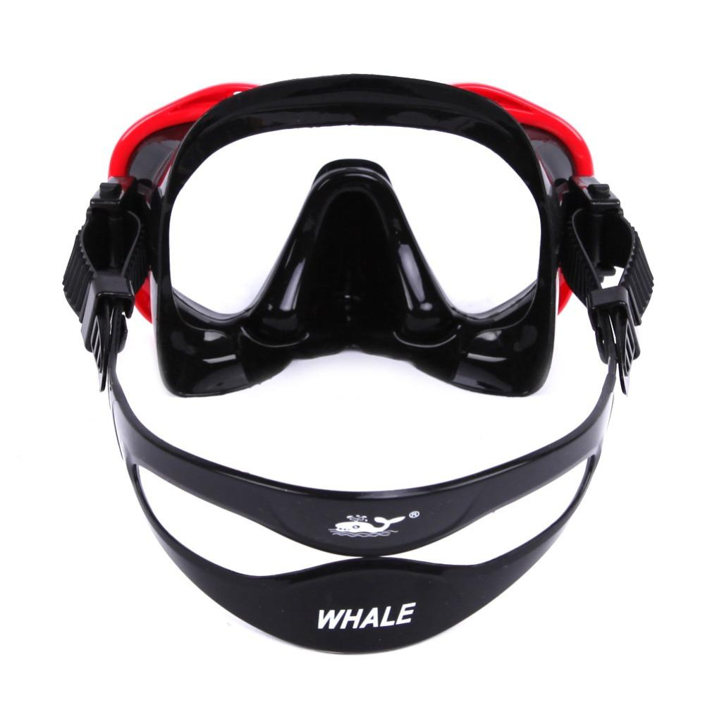 New Arrive Brand Adult Scuba Professional Swimming Diving Mask Goggles  Toughened Tempered Glass Diving Mask Equipment 2018