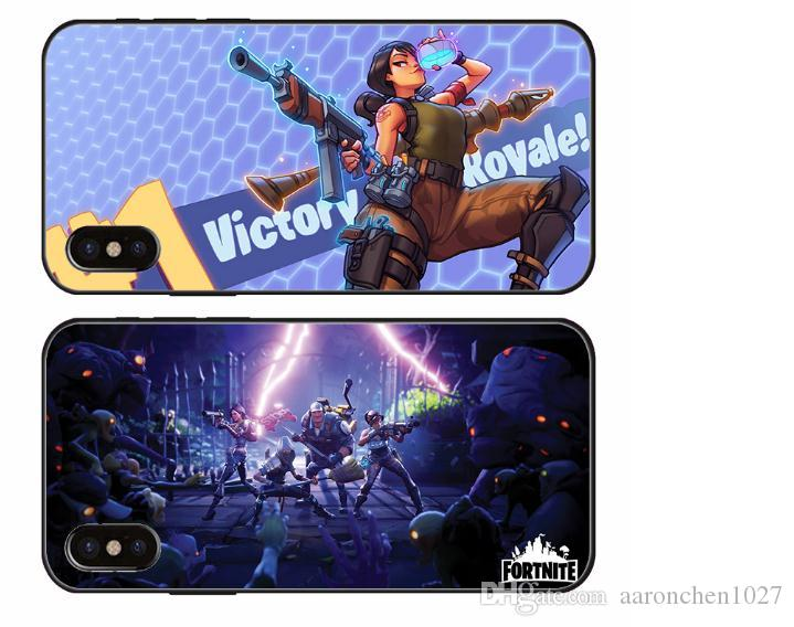 newest a58e4 bd77e Fortnite Cell Phone Cover Case for iPhone X XS XR Max 8 7 6 6s plus for  Samsung Galaxy S9 S8 Plus S6 S7 Edge Note 8 9 fortnite Accessories