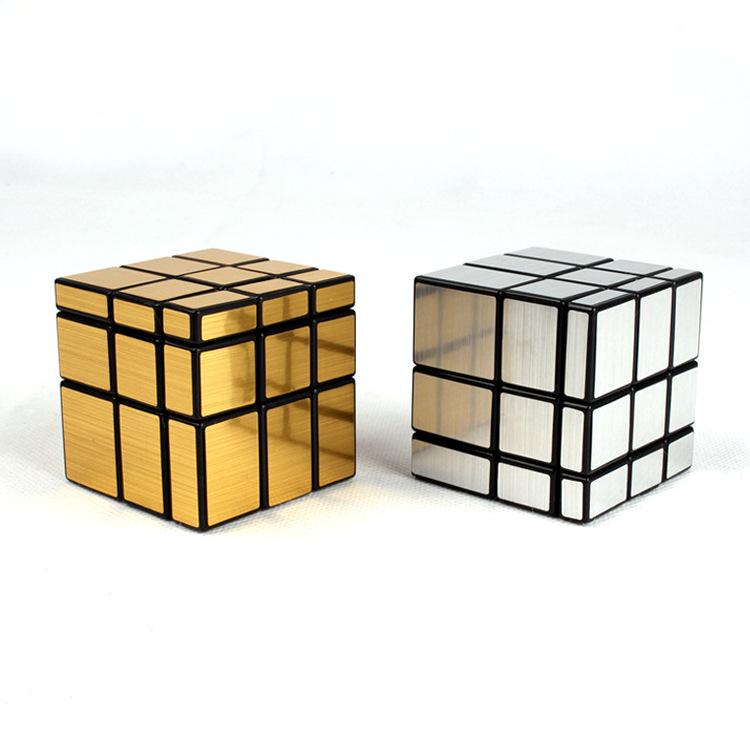 High Quality Magic Mirror Cube Professional Magic Cast Puzzle Speed Cube Learning Education Toys For Children Magic Cube with Retail Box