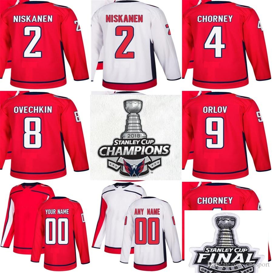bb0ce4b43 2018 Stanley Cup Final Champions Washington Capitals 2 Matt Niskanen ...