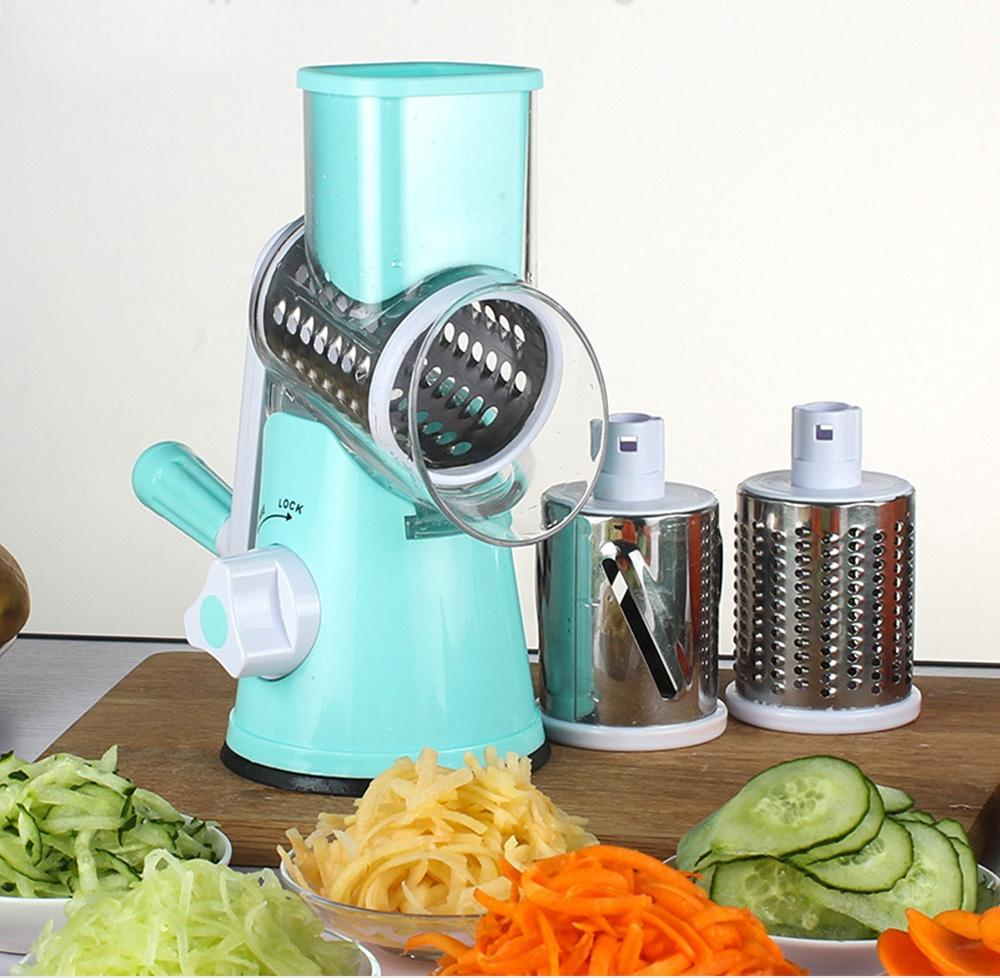 Discount Manual Hand Operated Vegetable Slicer Cutter 3 Stainless ...