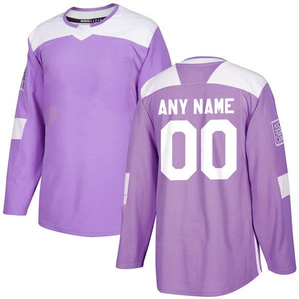 2d3ec32e5ff 2019 Factory Outlet Mens Momens Kids Anaheim Ducks Blank Custom Any Name    No. Purple Stitched Ice Hockey Jerseys